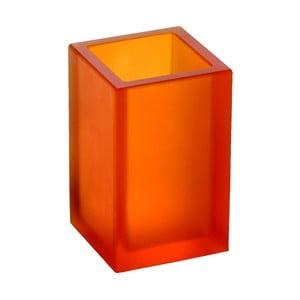 Nerozbitná váza Ivasi Medium, transparentní oranžová
