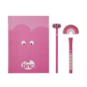 Set rechizite școlare TINC Mallo Note, roz