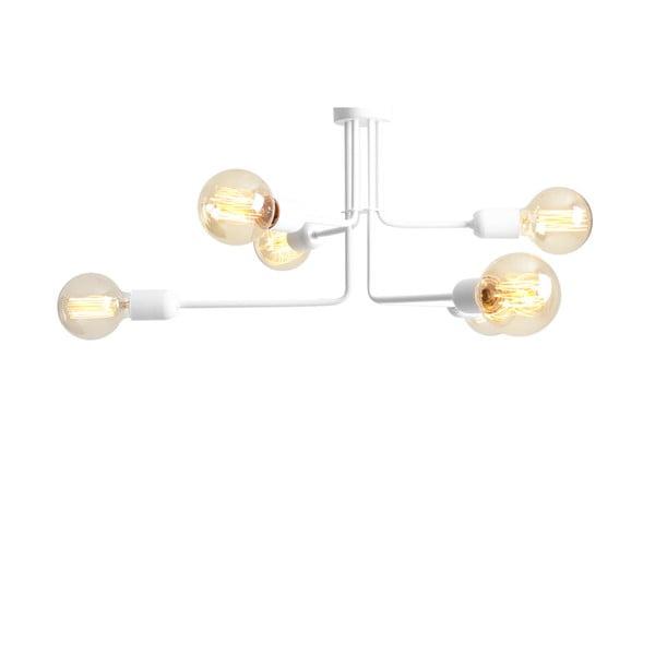 Bílé závěsné světlo pro 6 žárovek Custom Form Vanwerk