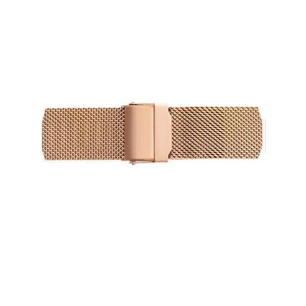 Dámské hodinky s páskem v růžovozlaté barvě Frederic Graff Dita