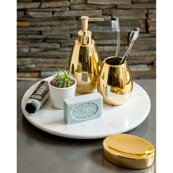 Zlatá miska na mýdlo Premier Housewares Magpie