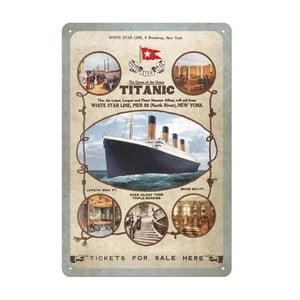 Cedule Titanic, 20x30 cm
