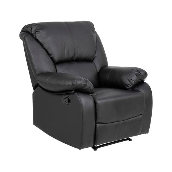 Czarny rozkładany fotel Actona Helsinki