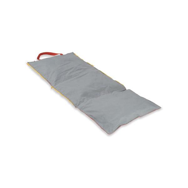 Skládací lehátko Hhooboz 150x62 cm, červené
