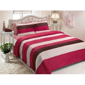 Sada přehozu přes postel a dvou polštářů TAC Double 220, 250 x 260 cm