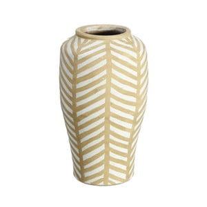 Vază din ceramică Ixia Hibiscus, galben