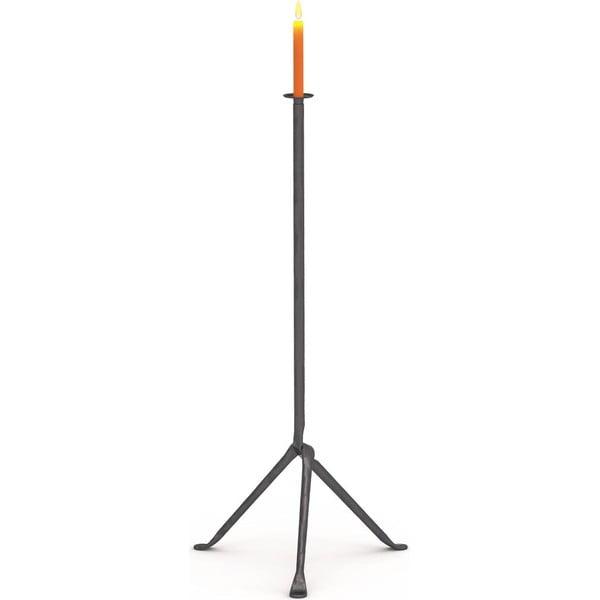 Antracytowy świecznik na 1 świeczkę Magis Officina, wys. 98 cm