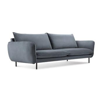 Canapea cu 3 locuri Cosmopolitan Design Vienna, gri
