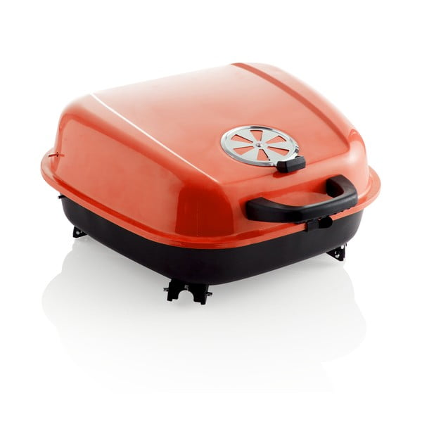 Přenosný gril Barbecue, červený