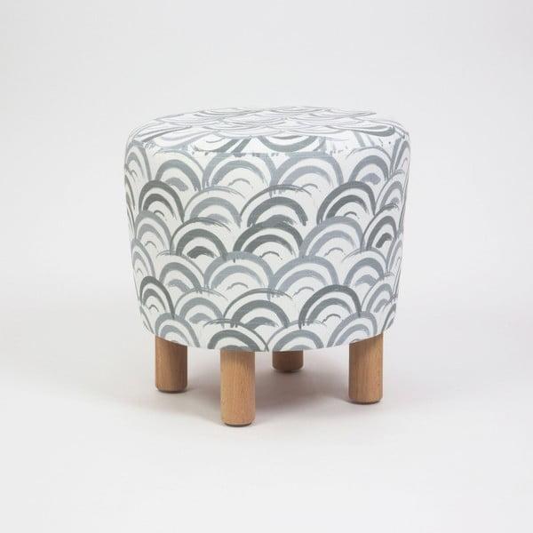 Cono Mimar ülőke fa lábakkal, ⌀ 41 cm