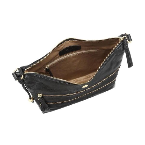 Dámská kožená taška Ginny Black