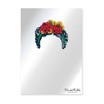 Oglindă de perete Madre Selva Espejo Decorado Frida Hair, 50 x 70 cm