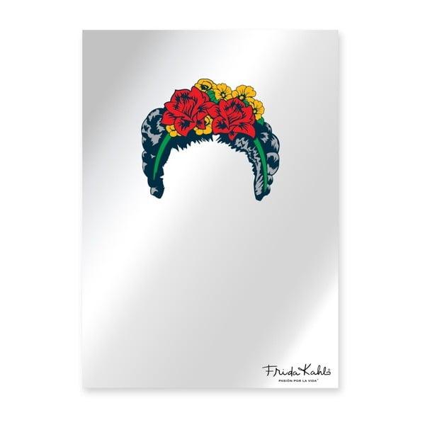 Lustro ścienne Madre Selva Espejo Decorado Frida Hair, 50x70 cm