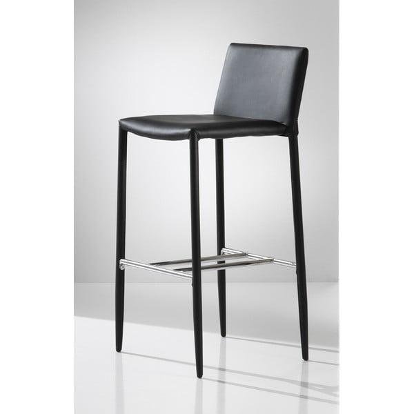 Barová židle Tomasucci Lion, černá