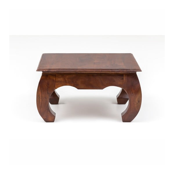 Stolik z drewna akacjowego WOOX LIVING Bali, 75x75 cm