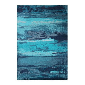 Covor Eco Rugs Conan, 135 x 200 cm, albastru