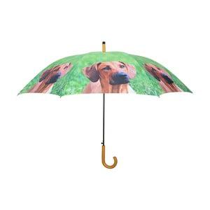 Umbrelă cu câini Esschert Design, verde