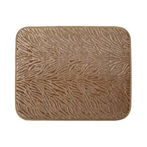 Koupelnová předložka Liana 50x60 cm, hnědá I