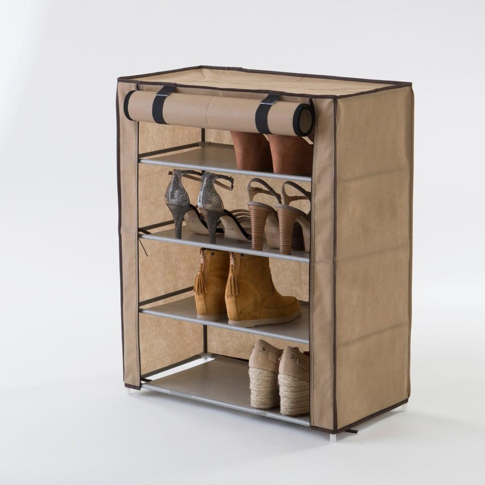 040e8d2e88 Béžový textilní čtyřpatrový botník Compactor Shoes