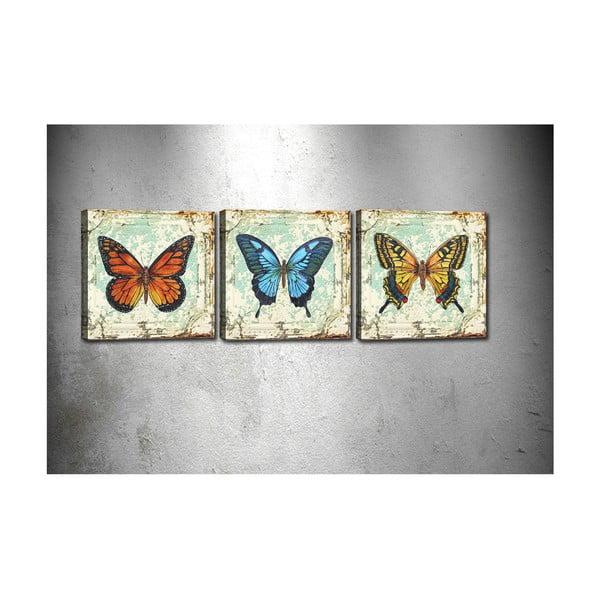 Butterflies 3 kép - Tablo Center