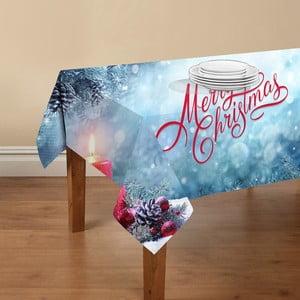 Ubrus Crido Consulting Merry Christmas, 140 x 140 cm