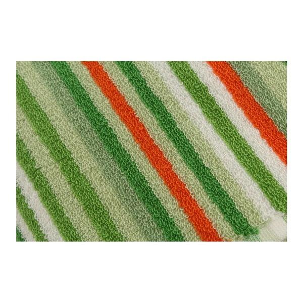 Sada 2 zelených ručníků Cizgi, 40x80cm