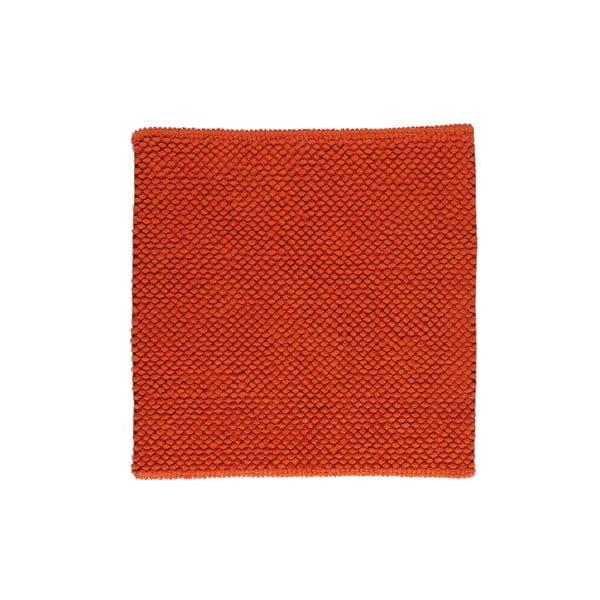 Koupelnová předložka Dotts Red, 60x60 cm