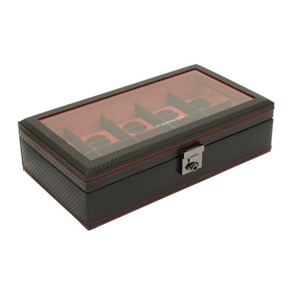 Box na hodinky Carbon 10 Black