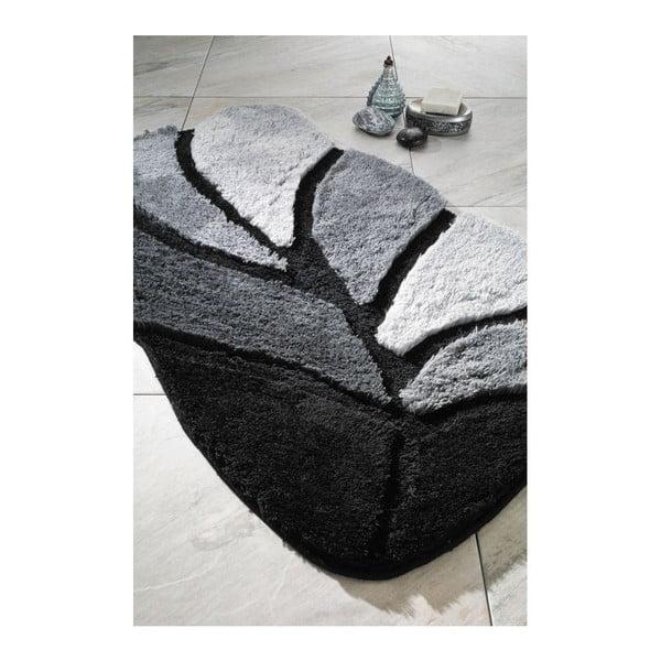 Koupelnová předložka Arus Black, 60x100 cm