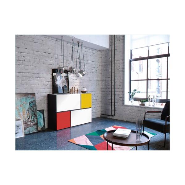 Barevná komoda Germania Ideeus Mondrian