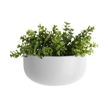 Ghiveci suspendat din ceramică PT LIVING Nest, alb mat de la PT LIVING