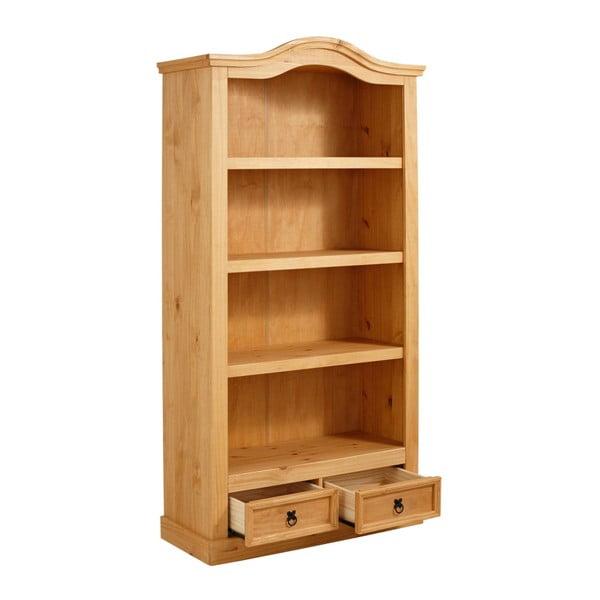 Knihovna z borovicového dřeva Støraa Alfredo