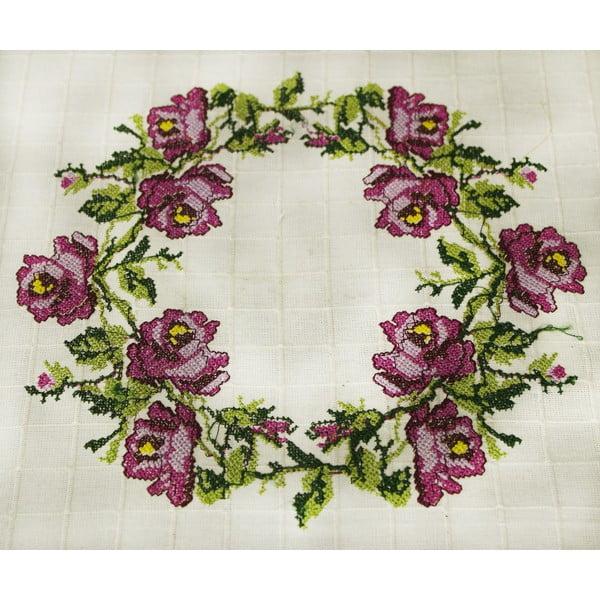 Ubrus Romantic Rose, 100x100 cm