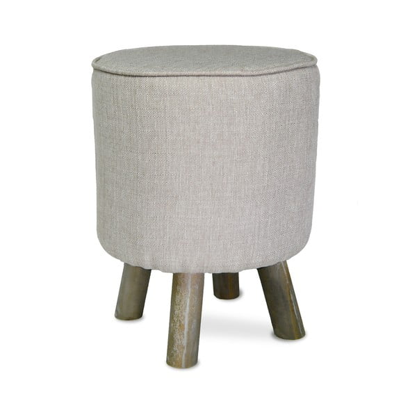 Taburetka French Stool Grey