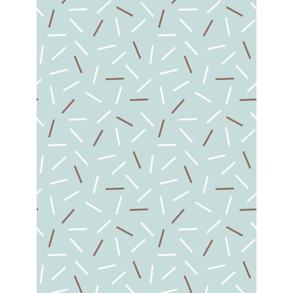 Vliesová tapeta Matches Blue, 0,53x10,05 m
