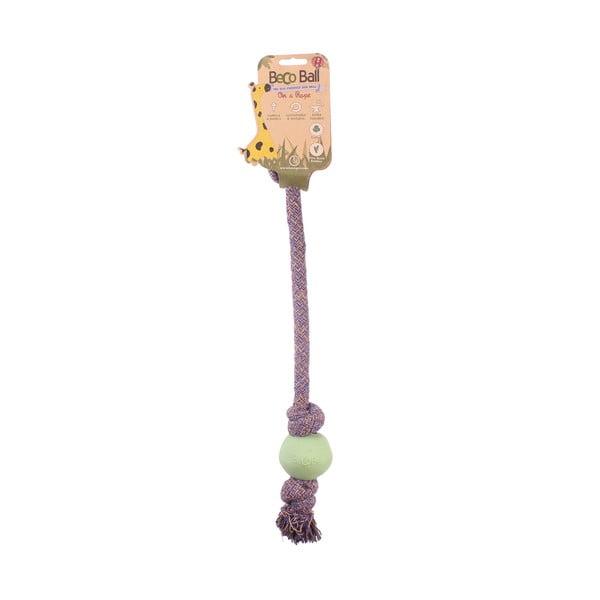 Provaz s míčkem na hraní Beco Rope 40 cm, zelený