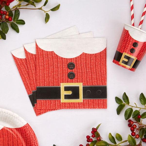 Zestaw 16 serwetek papierowych Neviti Dear Santa