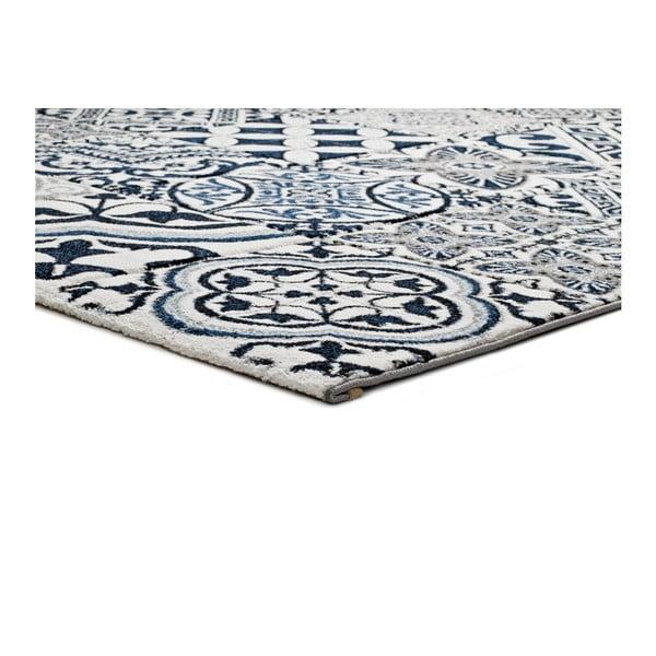 Modrý koberec Universal Indigo Azul Mecho, 60x120cm