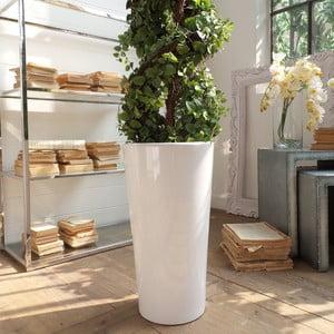 Květináč Support Everwhite, 31x57 cm