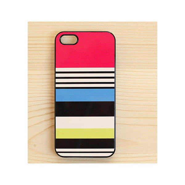 Obal na iPhone 4/4S, Stripes in Black