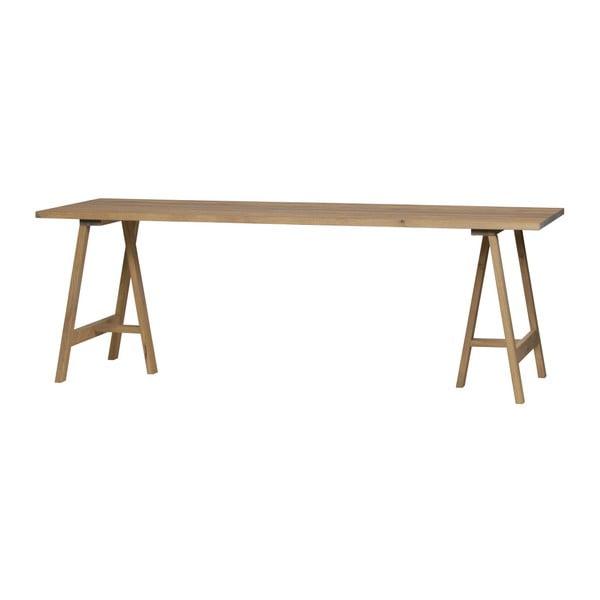 Doska k jedálenskému stolu z dubového dreva vtwonen Panel, 190 x 80 cm