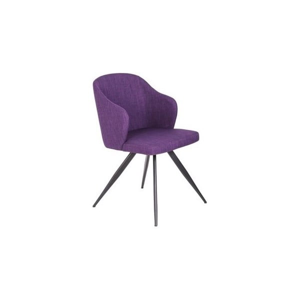 Fialová židle Ángel Cerdá Silla