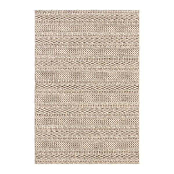 Covor potrivit pentru exterior Elle Decor Brave Arras, 80 x 150 cm, maro deschis