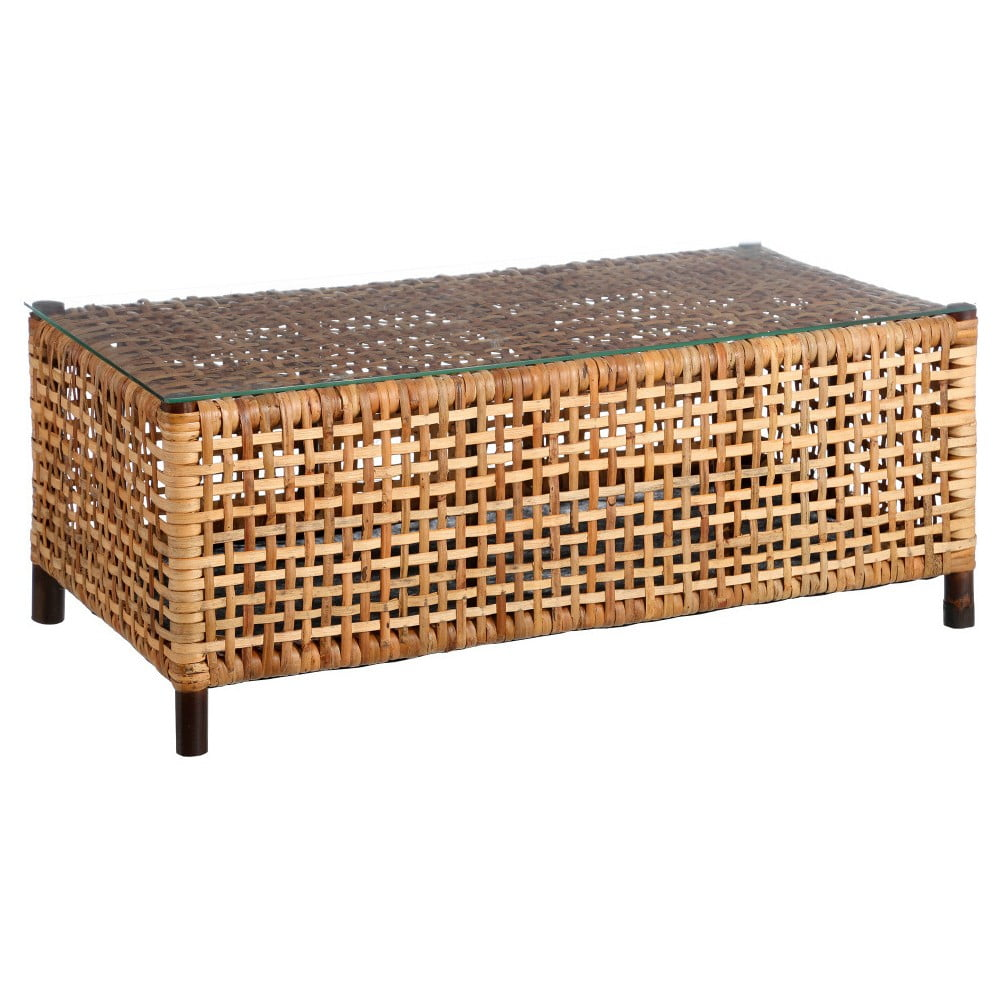 Ratanový odkládací stolek Denzzo Alnilam