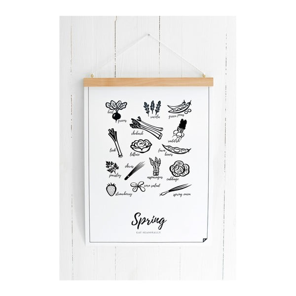Plakát Follygraph 4 Seasons Spring, 30x40cm
