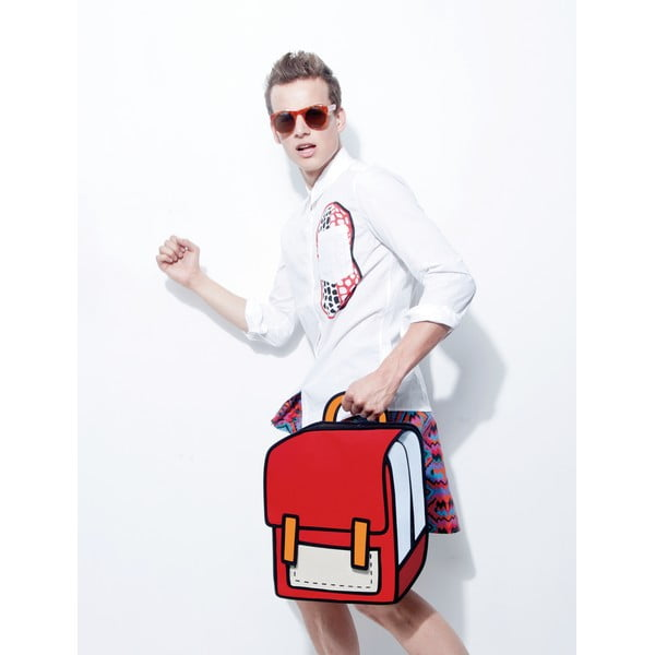 Komiksový batoh Spaceman Red