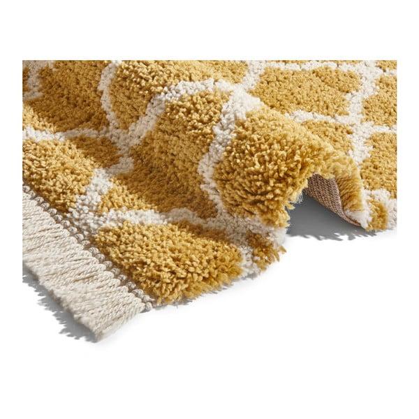 Oranžový koberec Mint Rugs Galluya, 80x150cm