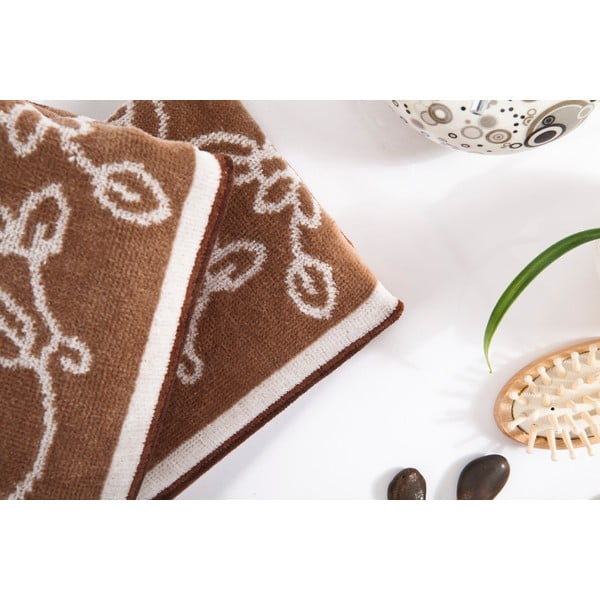 Sada 2 ručníků Samira Brown, 40x80 cm