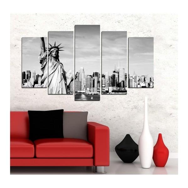 Vícedílný obraz 3D Art Rohmudo, 102x60cm