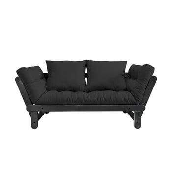 Canapea extensibilă Karup Beat Black/Gray